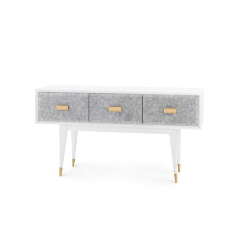bungalow 5 elisa console gray angle