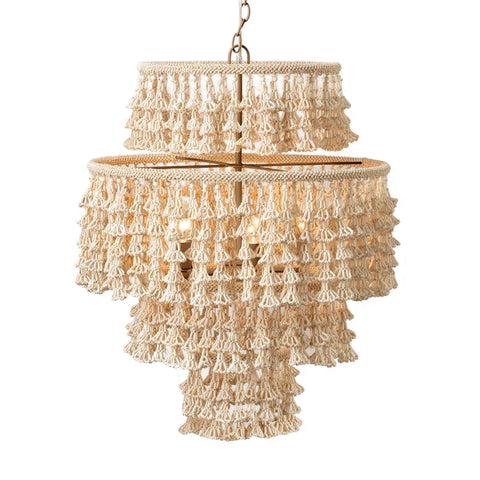 made goods Mckenzie chandelier coco beads
