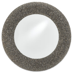 currey and company batad shell mirror round