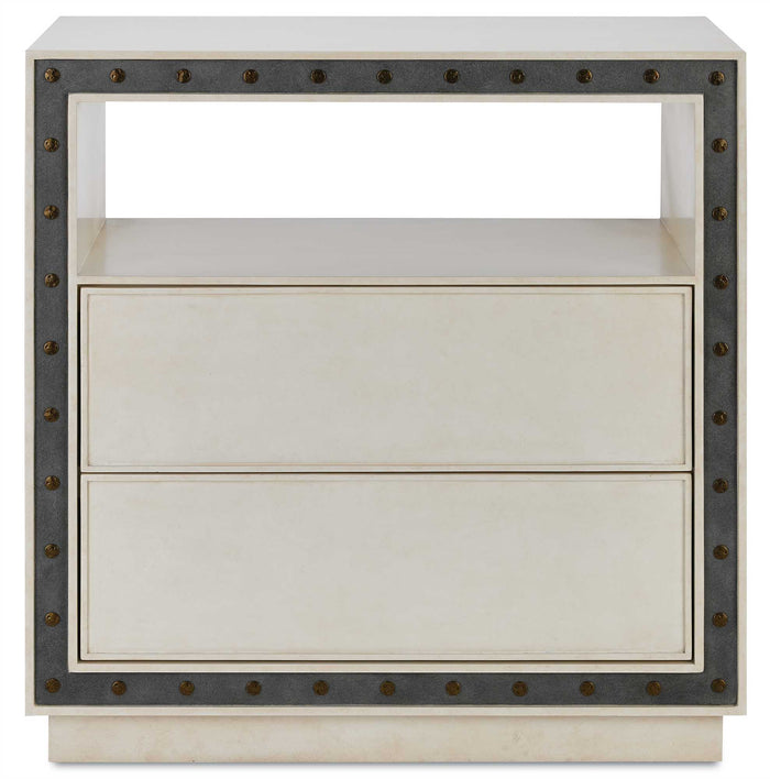 currey and company bristol chest gray wood