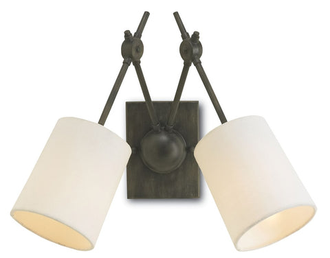 currey and company compass wall sconce