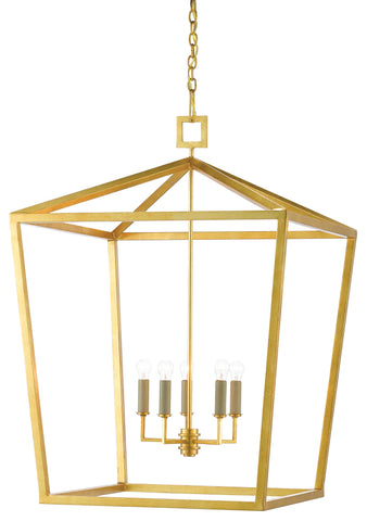 currey and company denison grande gold lantern