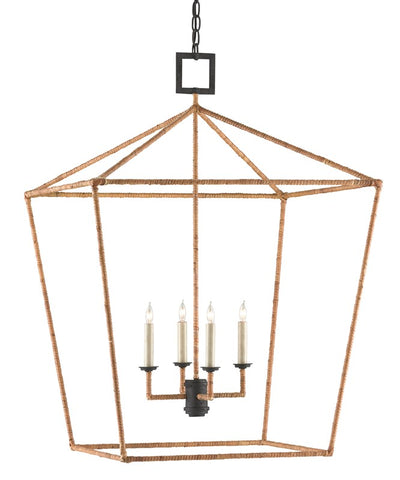 currey and company denison rattan lantern