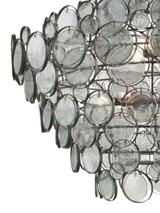 currey and company galahad chandelier detail