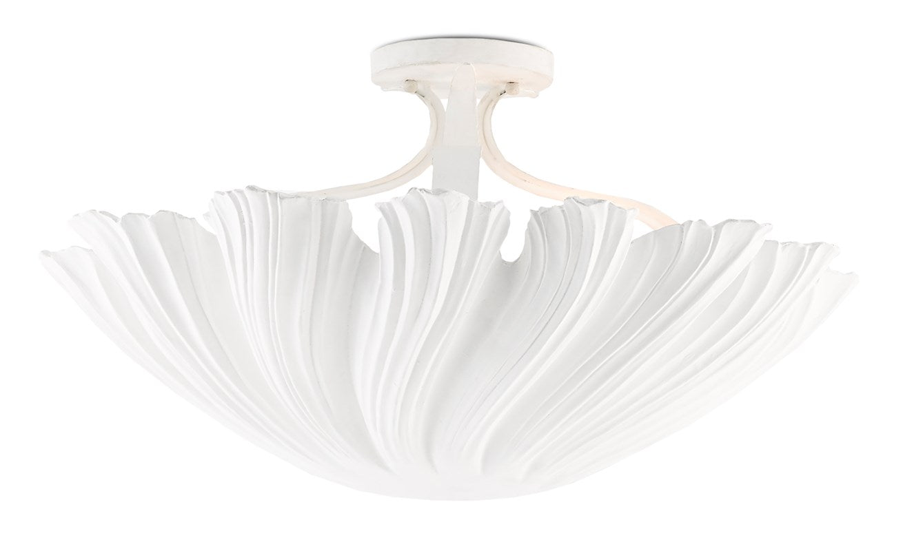 currey and company hadley flush mount chandelier