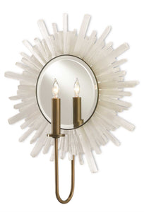 currey and company halo wall sconce angle