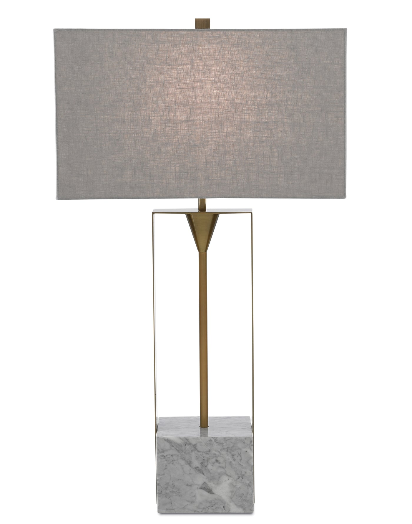 currey and company imperium table lamp front