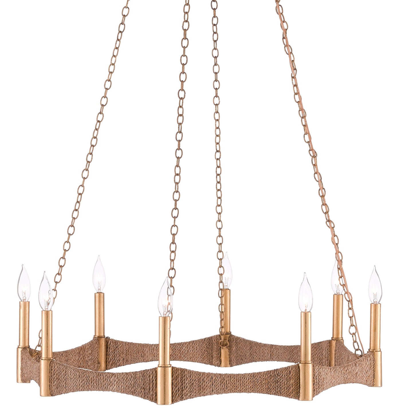 currey and company mallorca chandelier side