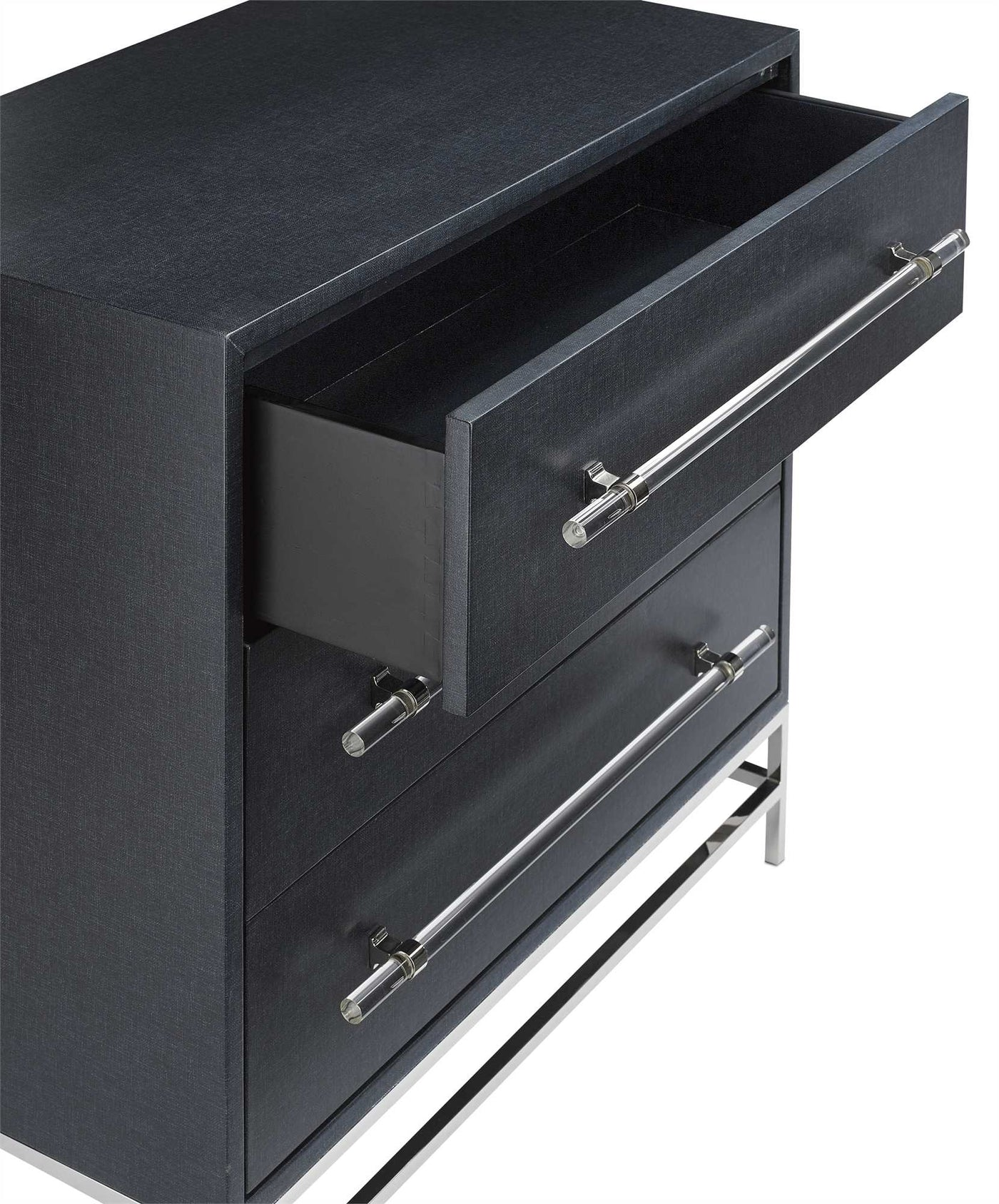 currey and company marcel chest open drawer