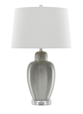 currey and company solita table lamp gray