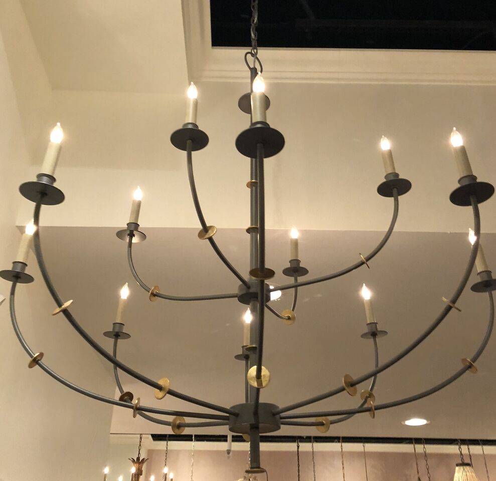 currey and company balladier chandelier market