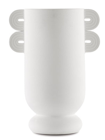 currey and company happy 40 vase straight white