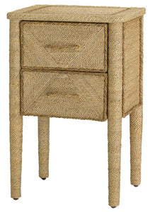 currey and company kaipo nightstand abaca rope