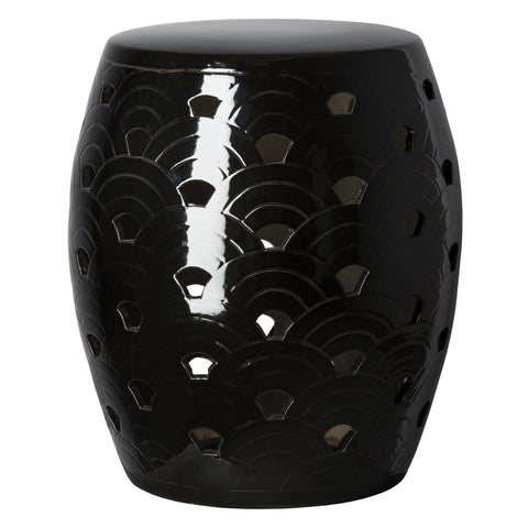 Emissary Wave Stool Black 12721bk