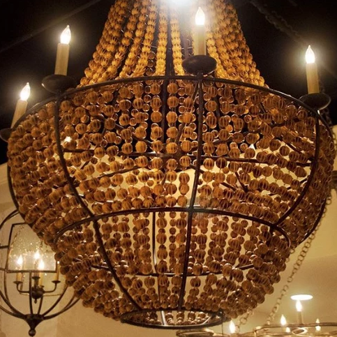 Currey and Company Falconwood Chandelier Lighting Hanging\