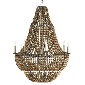 Currey and Company Falconwood Chandelier Lighting Hanging