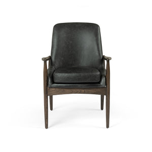 four hands braden dining arm chair durango smoke