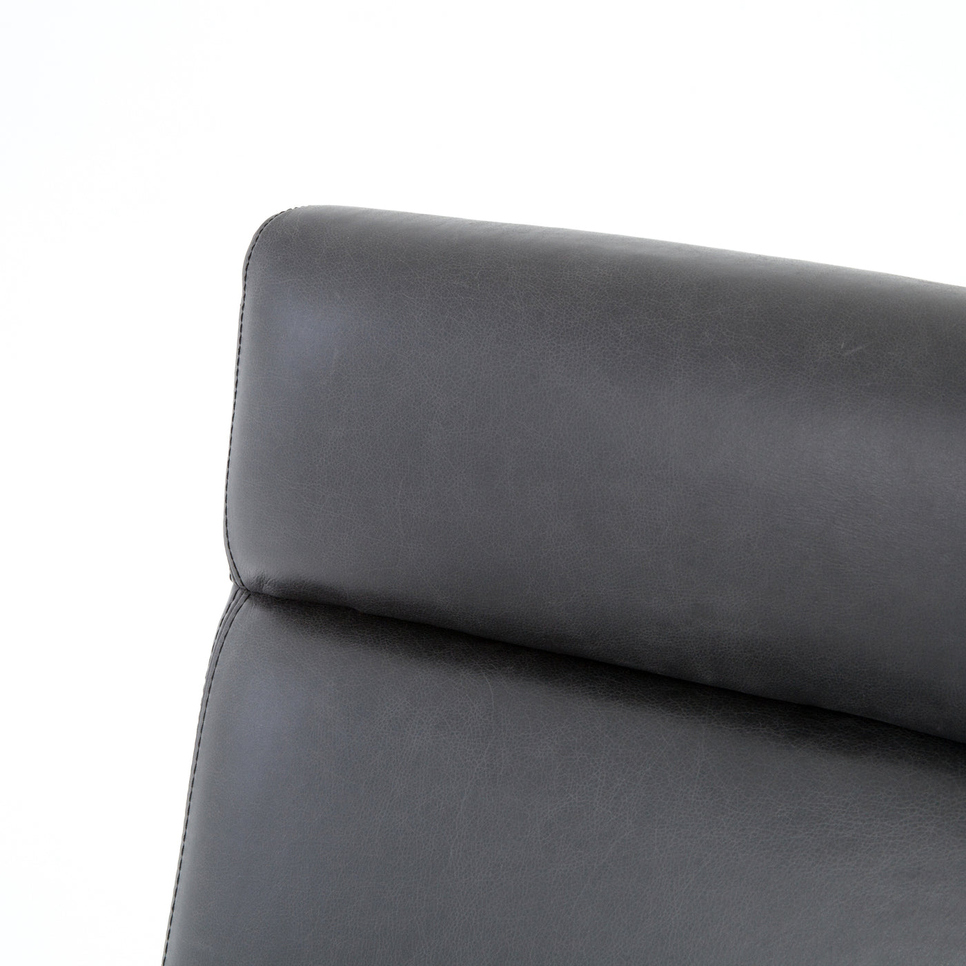 four hands bryson desk chair chaps ebony detail