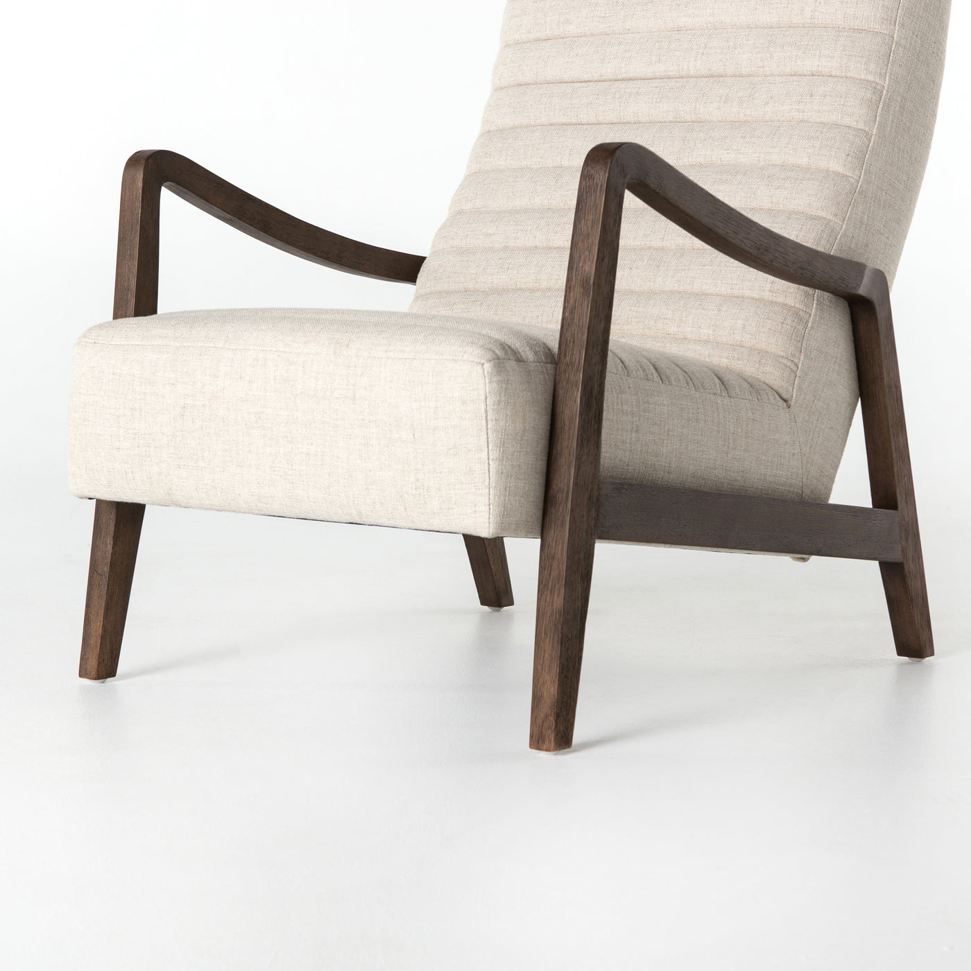 four hands chance chair linen natural bottom