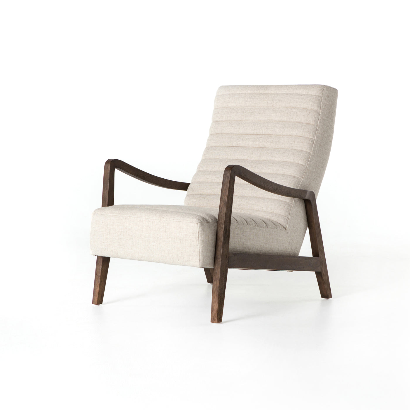 four hands chance chair linen natural