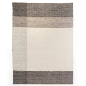 four hands color block dhurrie rug