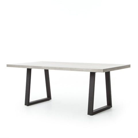 four hands cyrus rectangle table angle