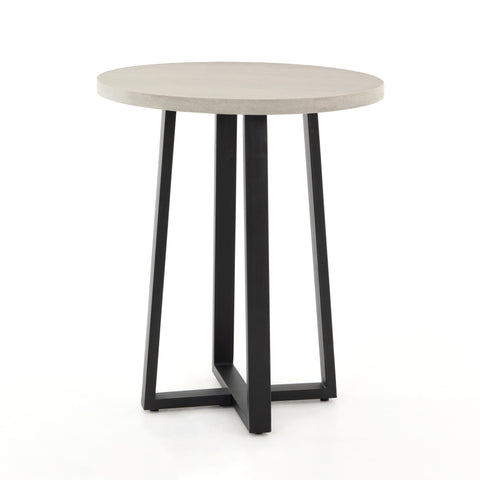 four hands cyrus round counter table