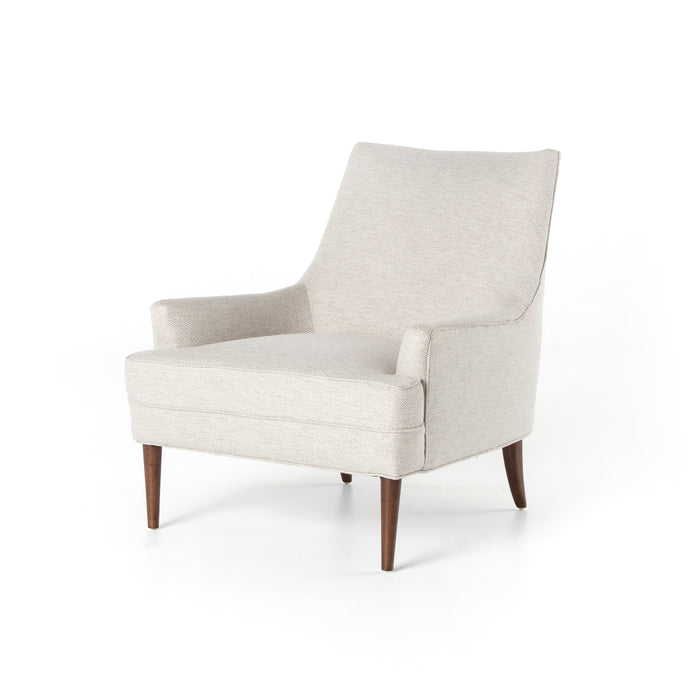 four hands danya chair noble platinum angle