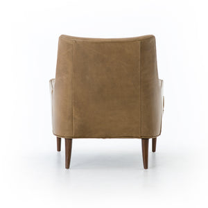 four hands danya chair warm taupe back