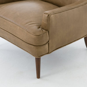 four hands danya chair warm taupe corner