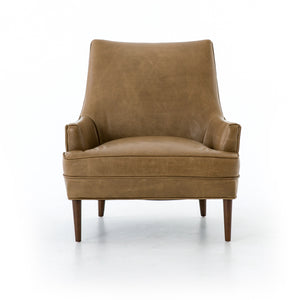 four hands danya chair warm taupe front