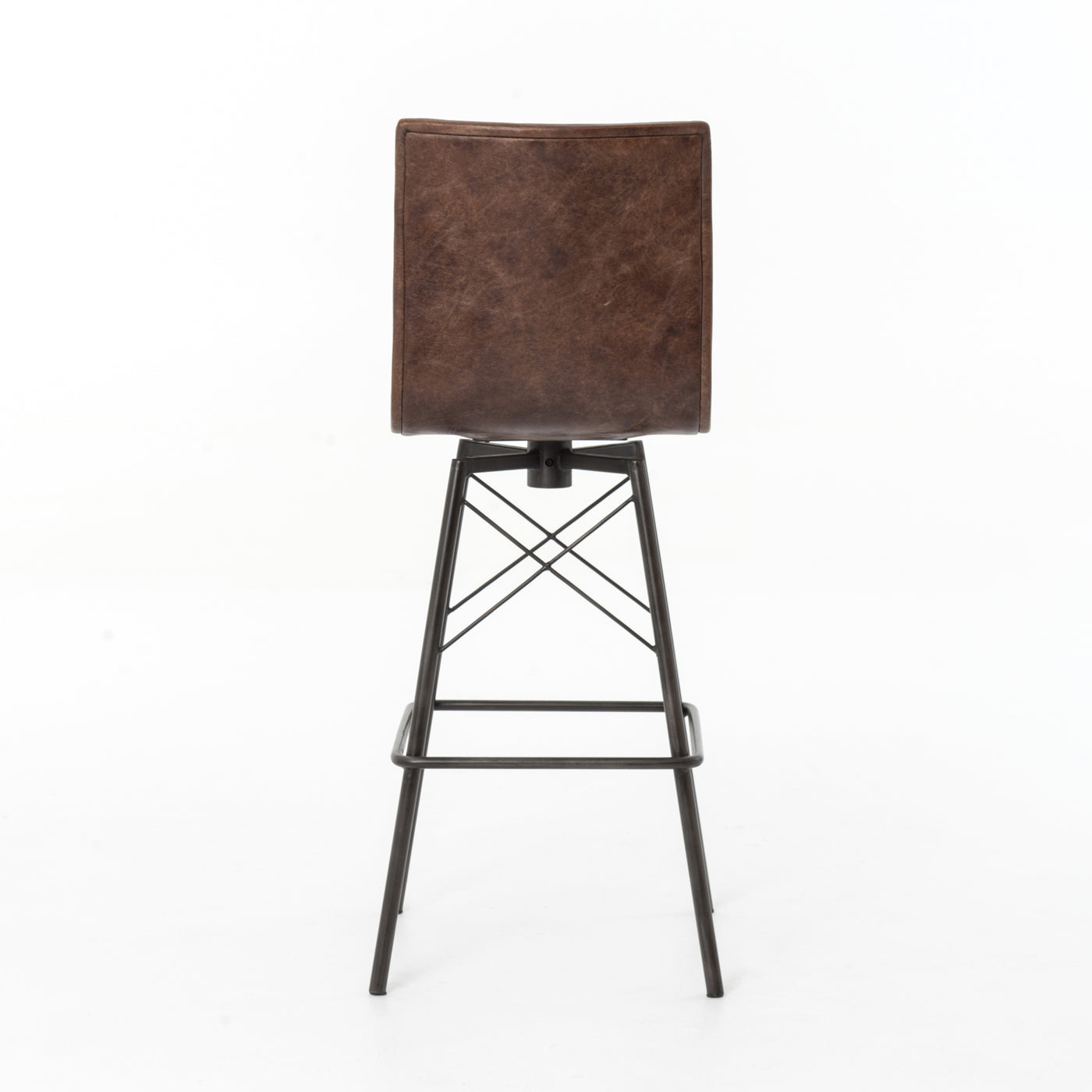 four hands draw bar stool back