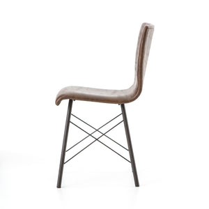 four hands diaw dining chair side