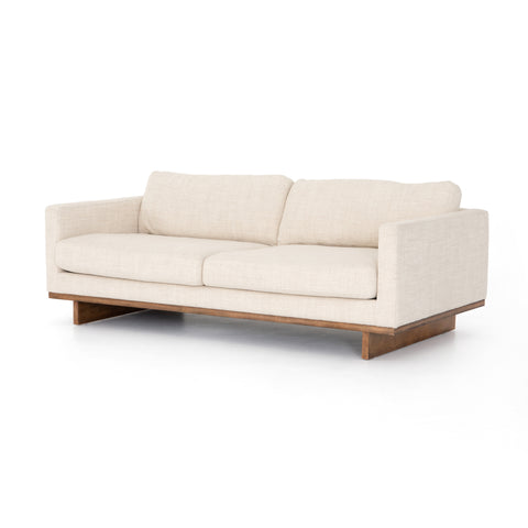 four hands everly sofa neutral taupe