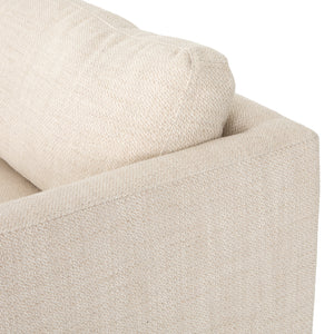 four hands everly sofa neutral  taupe detail