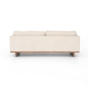 four hands everly sofa neutral  taupe back