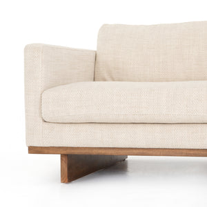 four hands everly sofa neutral  taupe arm