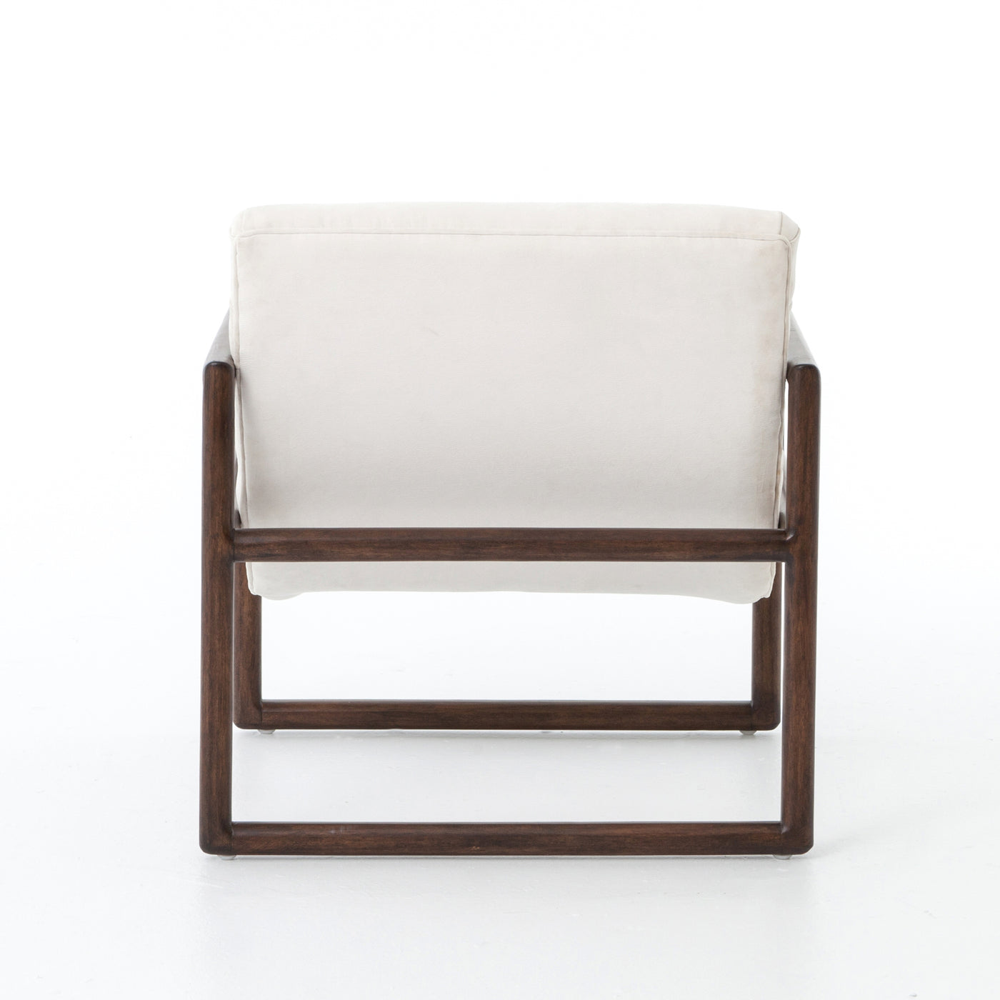 four hands fitz accent chair gaucho chalk back