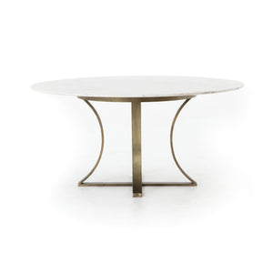 four hands gage dining table side