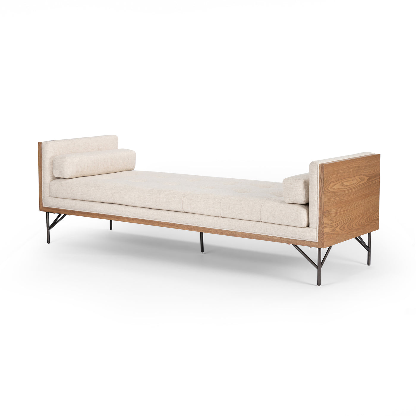 four hands holden chaise thames cream