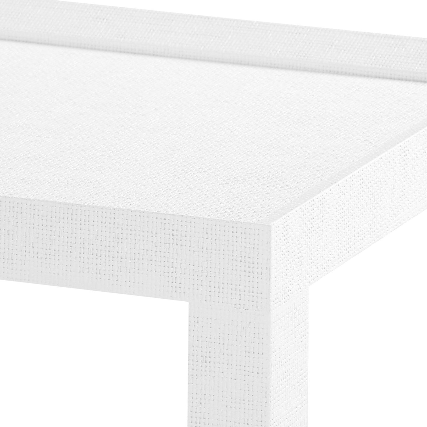 four hands isadora console white corner