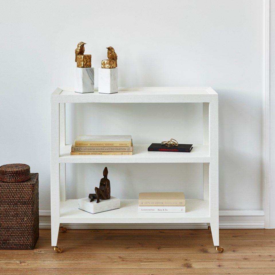 four hands isadora console white