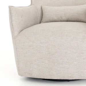 Kimble Swivel Chair Noble Platinum