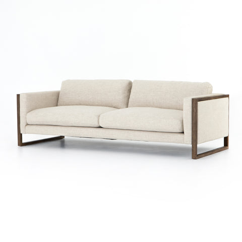 four hands otis sofa thames cream  angle