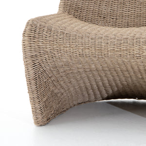 four hands portia outdoor chair bottom detail