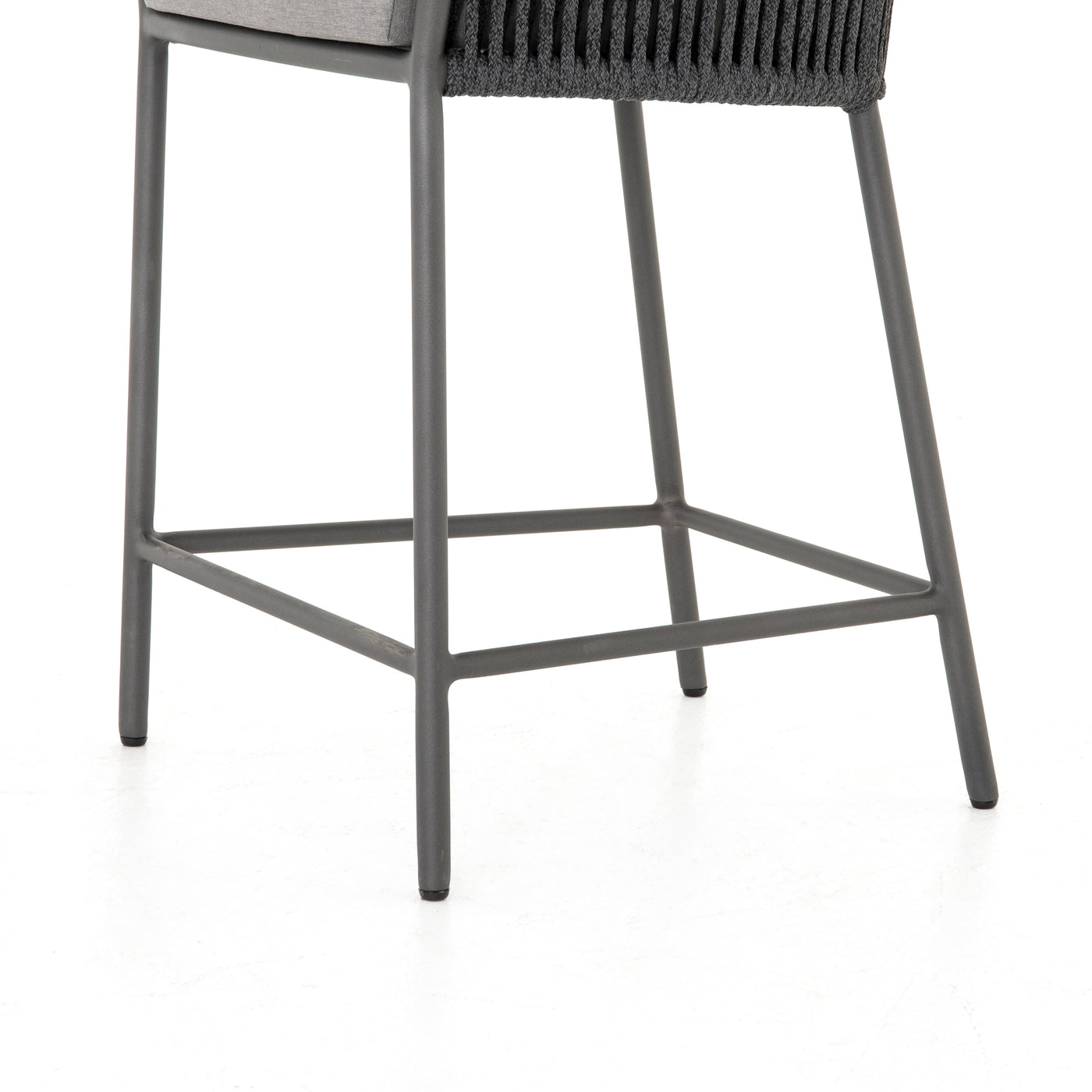 four hands porto counter stool charcoal legs