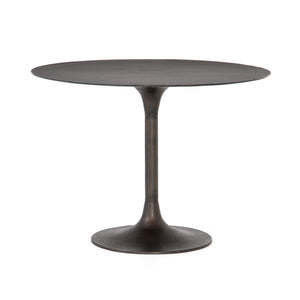 four hands simone bistro table antique rust