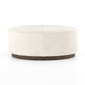 four hands sinclair large ottoman oyster profile