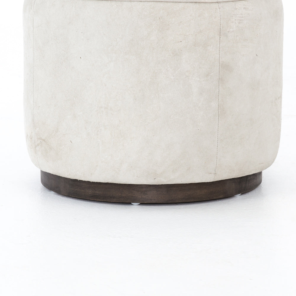 four hands sinclair ottoman whistler oyster bottom