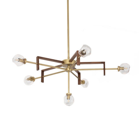 four hands sterling chandelier